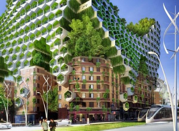 緑豊かなパリのイメージ