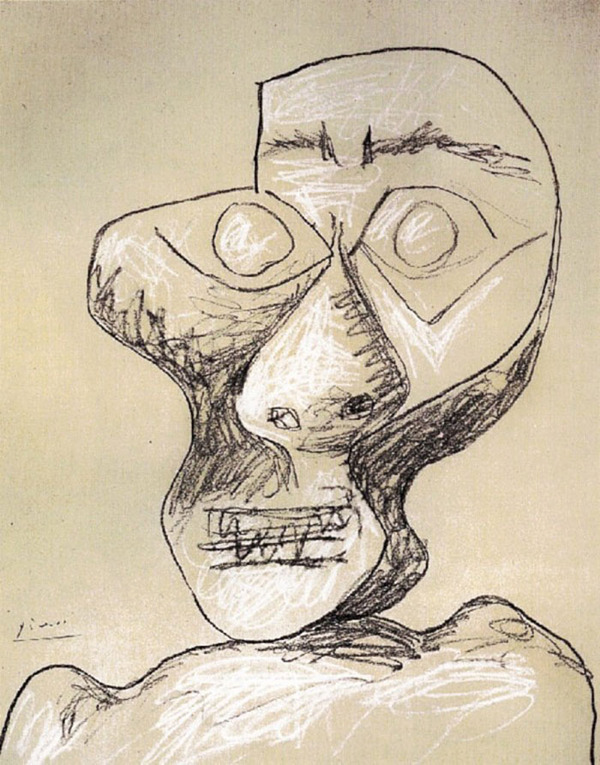 ピカソの自画像!15歳から90歳までの肖像画 (5)