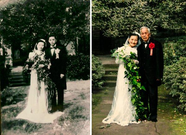 結婚式の日から70年