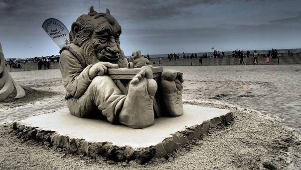 砂の彫刻コンテスト ハンプトン・ビーチ (15)
