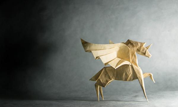 一枚の紙から折り紙で作る動物!折り紙アート (12)