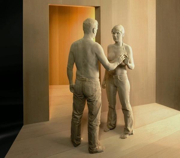 Peter Demetz の木の彫刻 2