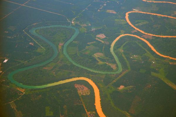 マレーシアのセランゴール川