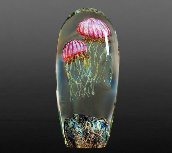 クラゲのガラスアート Richard Satava 14