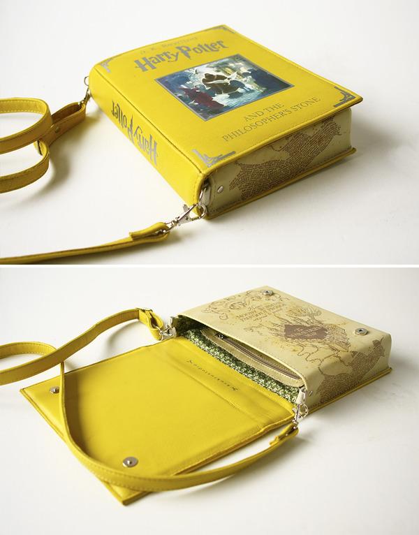 小説をモチーフにした本のバッグがかわいい (7)