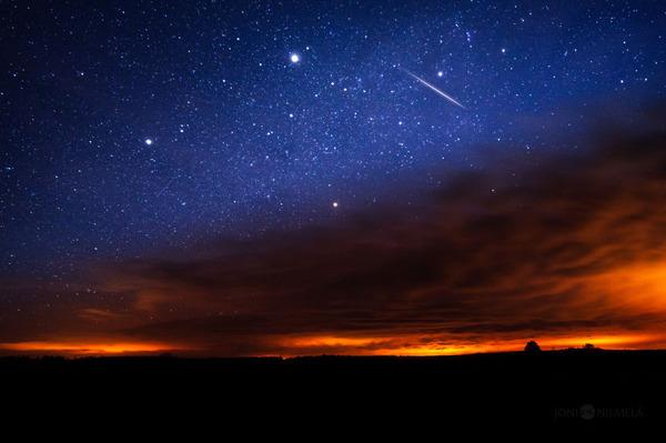 綺麗すぎ!フィンランドの夜空、満天の星空の写真 (4)