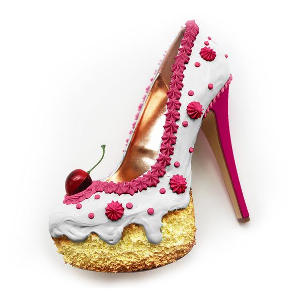 ケーキやアイスクリームみたいなスウィーツなレディース靴 (2)