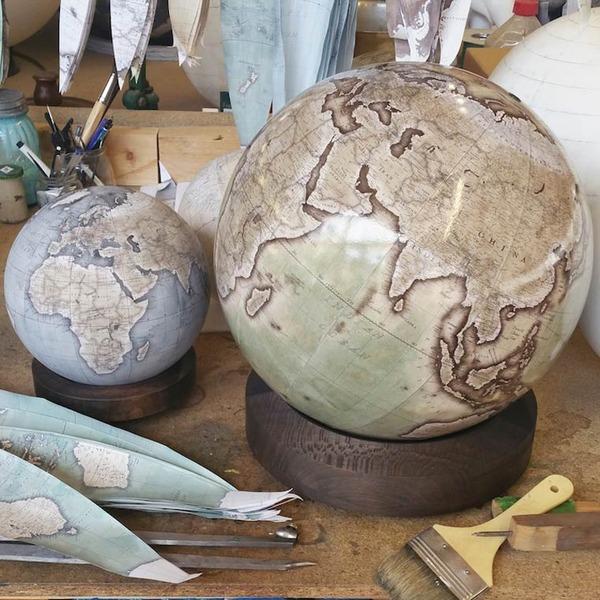 世界を旅したくなる。価値ある手作り地球儀の製作現場 (8)