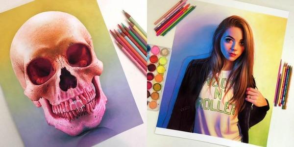 光沢と色彩の表現が美しい絵画 モルガン・デビッドソン 6