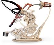 ハチドリの動きをシミュレート!歯車で滑らかに動く彫刻『Colibri』