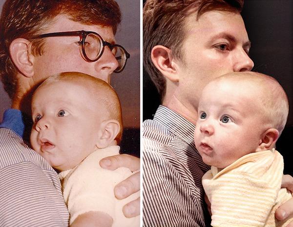 親子って似るんだね。親とそっくりな子供の比較画像 (24)