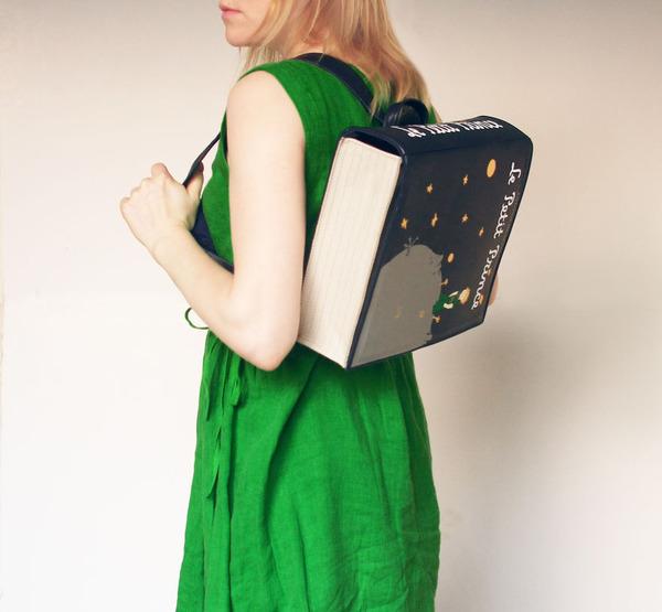 小説をモチーフにした本のバッグがかわいい (5)