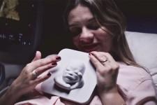 3Dプリンタでお腹の胎児と対面!盲目の妊婦の感動話
