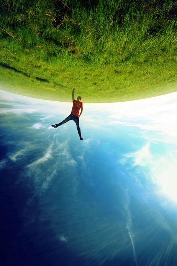 地球の重力がおかしくなった!ように見えるおもしろ錯覚画像特集 (8)
