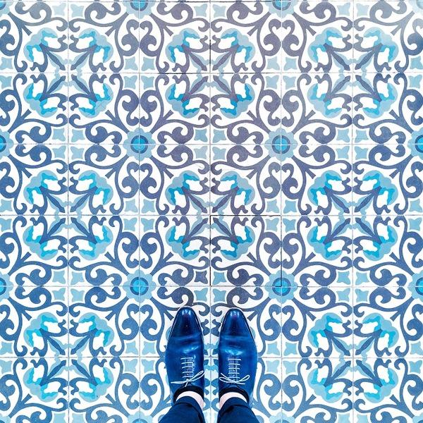カラフルで多様なロンドンの床の写真シリーズ (2)
