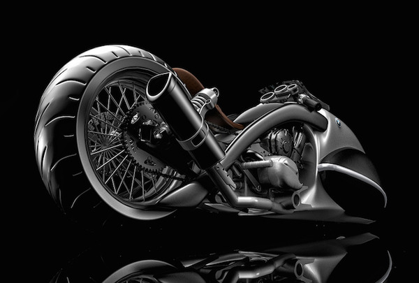 BMW Apollo Streamliner Motorcycle Concept 4