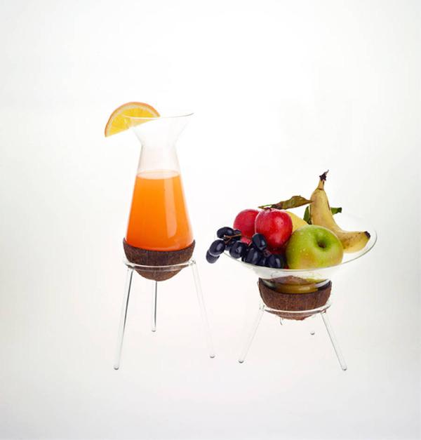 フルーツを飾るためのガラスのユニークデザイン (11)