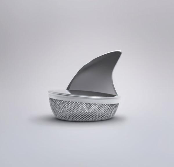 鮫型茶アミ