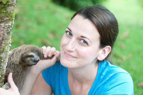 癒し系動物ナマケモノの赤ちゃんが超かわいい画像 (8)