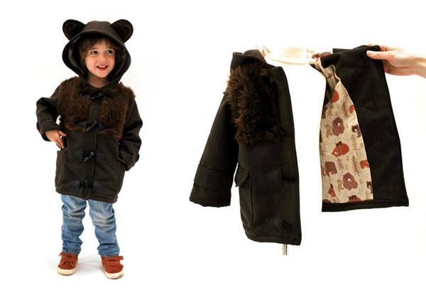 子供用の動物フード付きコートが反則的な可愛さ! (12)