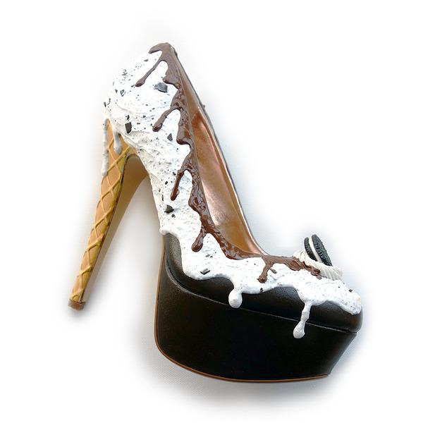 ケーキやアイスクリームみたいなスウィーツなレディース靴 (4)
