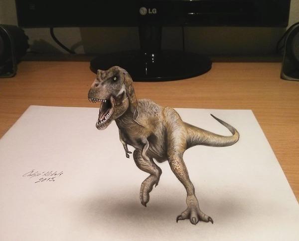 歪像によって浮き出て見える3D絵画アートが面白い! (10)