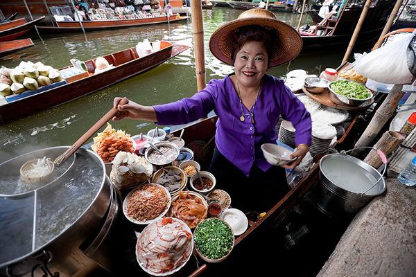 タイの食堂屋台
