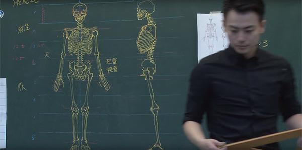 分かりやすい!デッサンスキルを生かした解剖学の授業 (5)