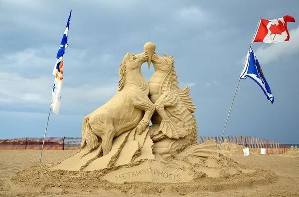 砂の彫刻コンテスト ハンプトン・ビーチ (10)