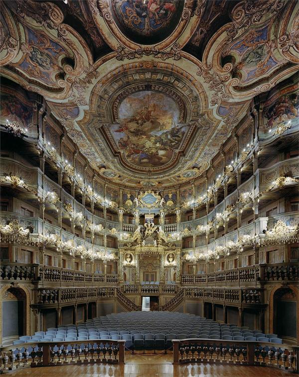 オペラハウスバイロイト、ドイツ、2008年