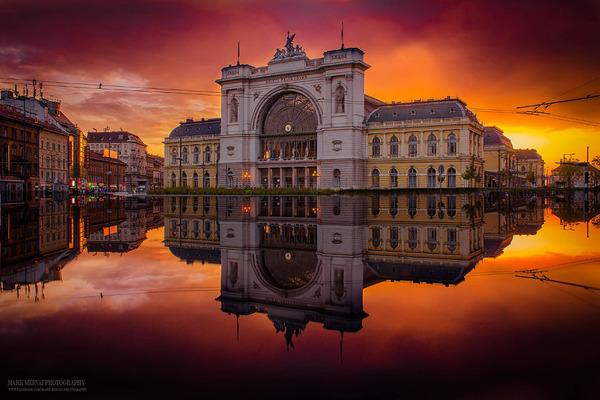 壮観!ハンガリーの首都ブダペストの美しい都市景観の写真 (2)