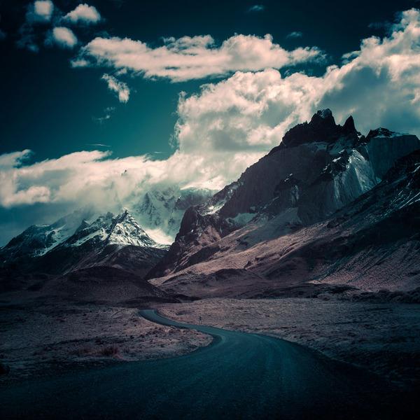 嵐の大地パタゴニアの美しく雄大な自然風景写真 (14)