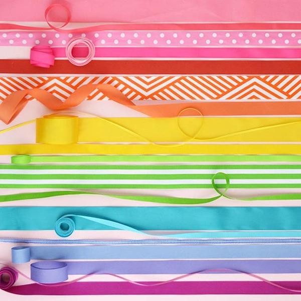 物で虹の色彩を作るアート写真プロジェクト (20)