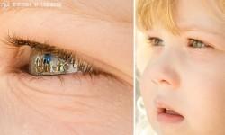 瞳に反射して映る結婚式の風景を写真撮影『Eyescapes』