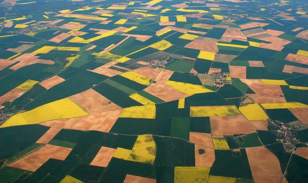 フランスの田舎地方の写真