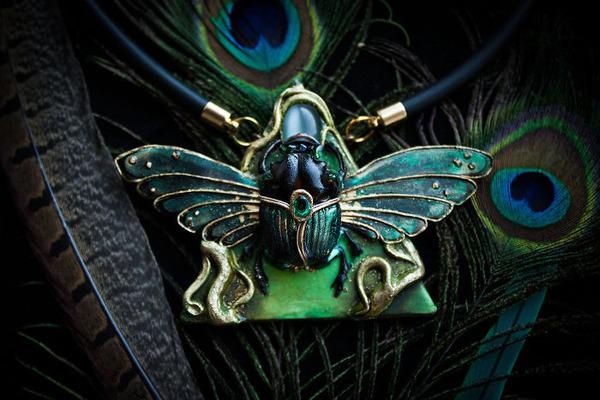 創造動物!神話をモチーフにしたユニークな手作りアクセサリー (13)