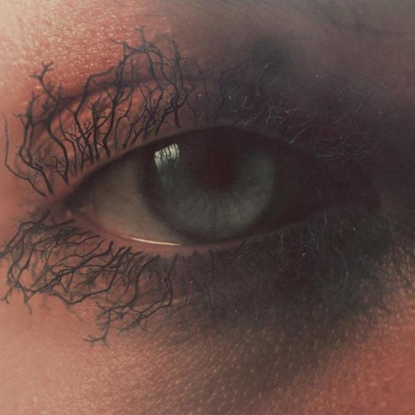 瞳をデジタル加工したアート  Nevan Doyle 1