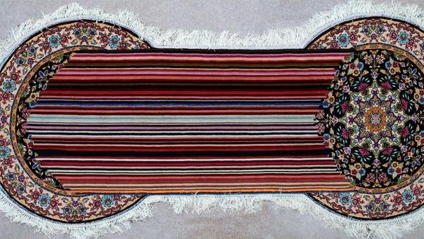 歪む、溶ける、飛び出す!不思議な形をした絨毯 (10)