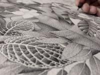 極細ボールペンの手描きドット!超緻密で精細な絵画イラストアート
