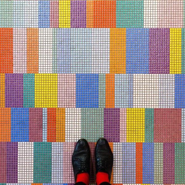 色んな床いっぱい。イタリア、ヴェネツィアの床のデザイン (9)
