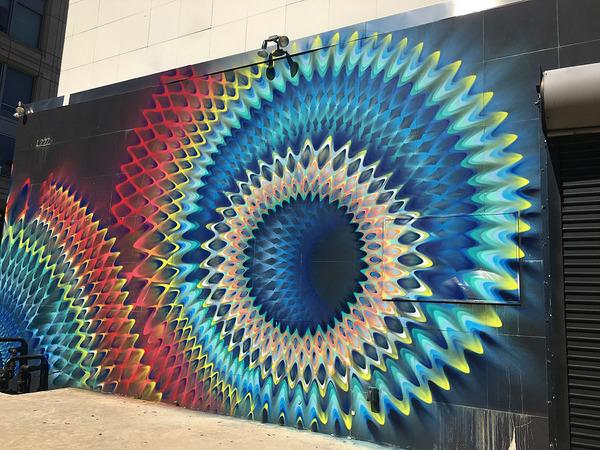 全部スプレー!ちょっとサイケデリックなストリートアート (4)