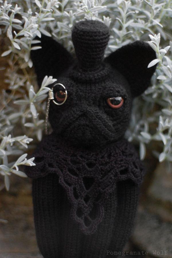 キモカワ?タコの足とイヌの顔が合体している編み物『Octodogs』 (3)