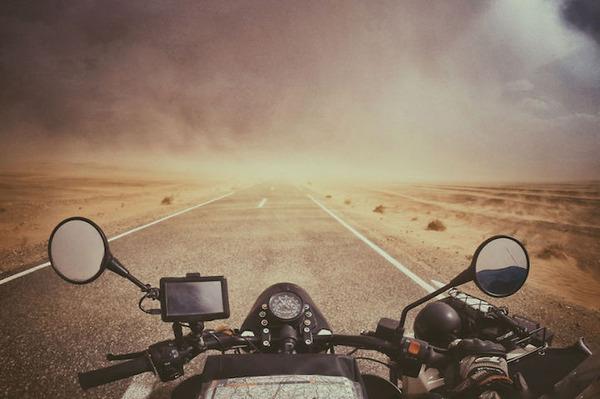 13 サハラ砂漠の砂嵐