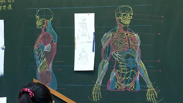 分かりやすい!デッサンスキルを生かした解剖学の授業 (3)