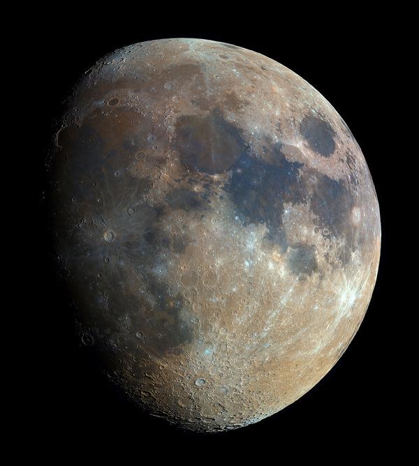 高解像度の月の天体写真 High-res-Moon