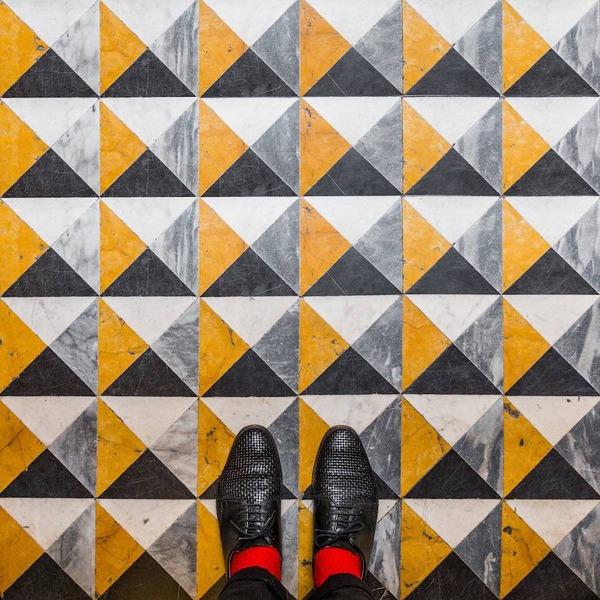 色んな床いっぱい。イタリア、ヴェネツィアの床のデザイン (4)
