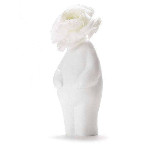 一輪の花を飾るための人型花瓶『フラワーマン』 (6)