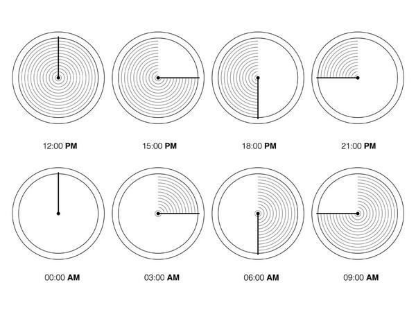 禅の庭にインスピレーションを受けて製作された「砂の時計」 (4)