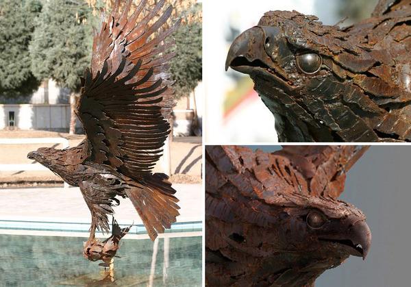 屑鉄から生まれた鷲