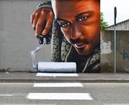 立体的な壁画!飛び出る3Dペイントによるストリートアート